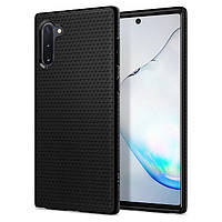 Чехол Spigen для Samsung Galaxy Note 10 Liquid Air, Matte Black (628CS27373)