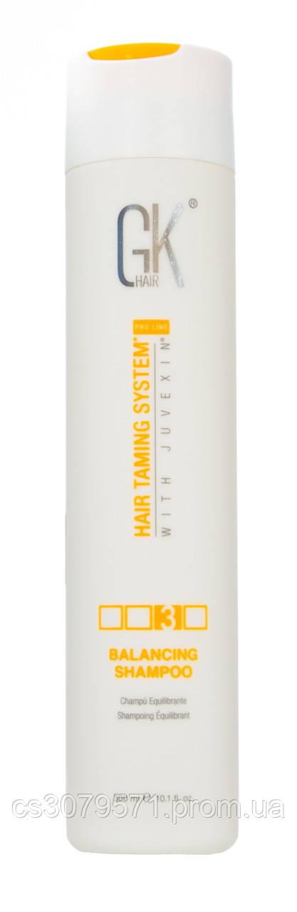 """Шампунь """"Питание и защита"""" GKhair Balancing Shampoo 300 мл"""