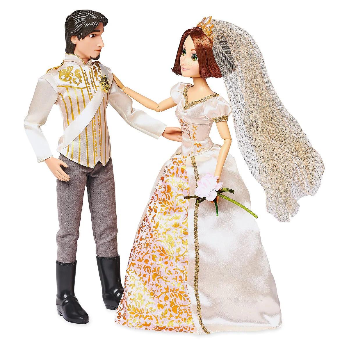 Кукла Рапунцель и Флин Райдер - Rapunzel принцесса Дисней - Flynn Rider - Disney набор кукол