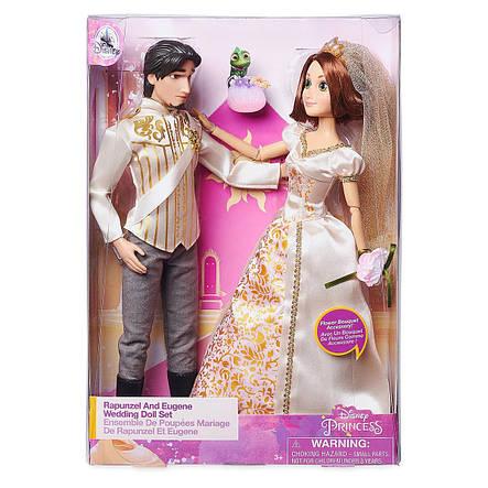 Кукла Рапунцель и Флин Райдер - Rapunzel принцесса Дисней - Flynn Rider - Disney набор кукол, фото 2