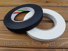 Тасьма клейова (боковочная, окантовачная) 15мм колір Чорний
