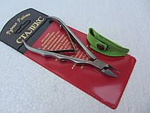 Кусачки для кутикул Сталекс проффесиональные малые удлиненные