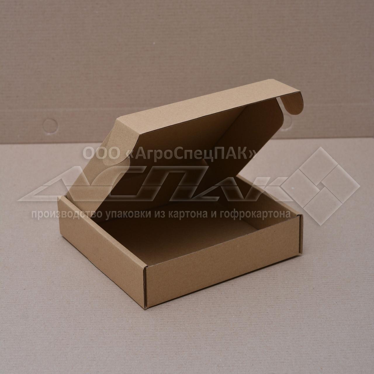 Картонные коробки 150*150*38 бурые