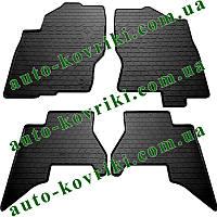 Резиновые коврики в салон Nissan Pathfinder III (R51) 2010-2015 (Stingray)
