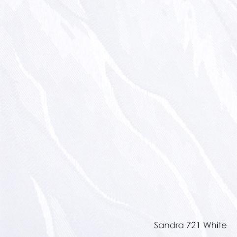 Вертикальные жалюзи Sandra-721 white