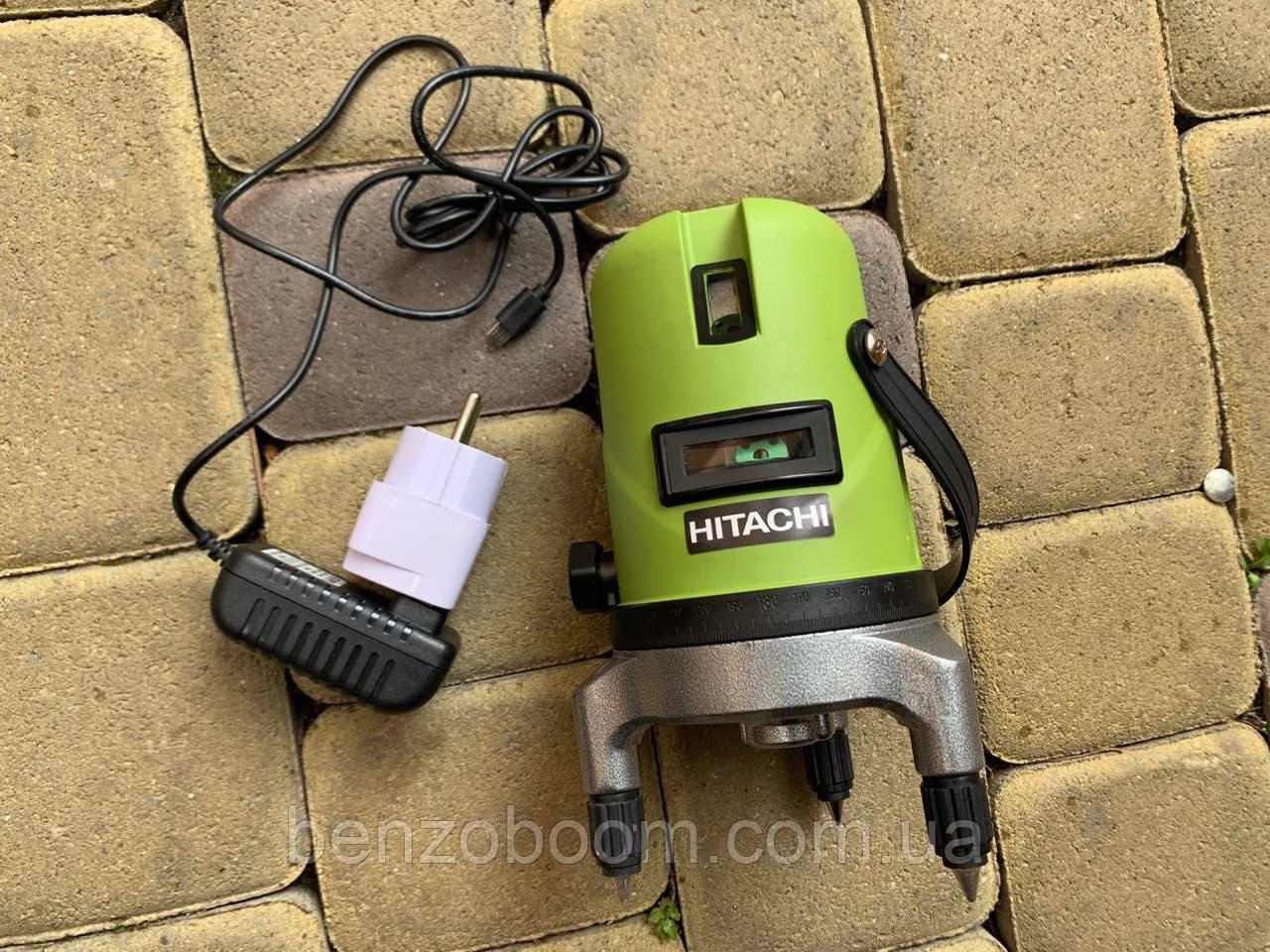 Лазерный уровень Hitachi HLL50-5 зелёный луч