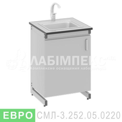 Стол мойка лабораторный СМЛ-3.252.05.0220
