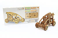 Деревянный механический конструктор Wood Trick - Багги. Техника сборки - 3d пазл. БЕСПЛАТНАЯ доставка