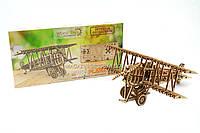 Детский деревянный механический конструктор Wood Trick- Самолет. БЕСПЛАТНАЯ ДОСТАВКА