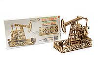 Деревянный механический конструктор Wood Trick - Нефтевышка.Техника сборки - 3d пазл. БЕСПЛАТНАЯ ДОСТАВКА