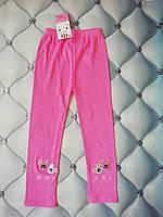 Лосины для девочки Маус, розовые, рр. 6-7 лет, фото 1