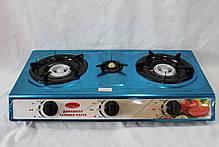 Газовая плита таганок Wimpex на 3 конфорки WX-1103, фото 2