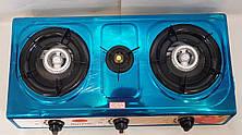 Газовая плита таганок Wimpex на 3 конфорки WX-1103, фото 3