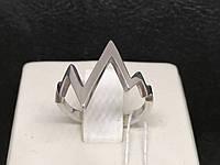 Срібне кільце. Артикул 3830 16,5, фото 1