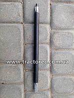 Вал нижний длинный косилки роторной КР-01 (ременной привод к мотоблоку)