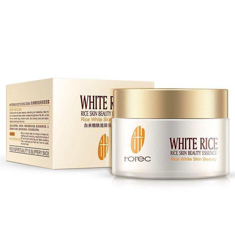 Крем для лица с белым рисом Rorec