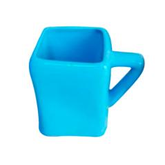 Чашка Голубой куб 460мл
