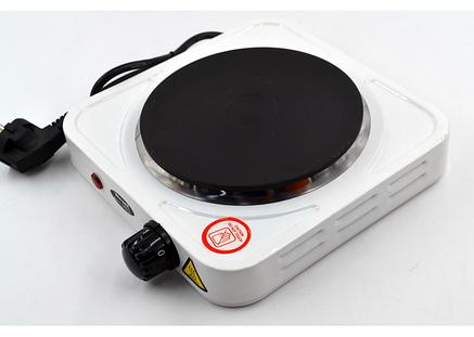 Электроплита 1 конфорка дисковая плитка WimpeX WX-HP001, фото 2