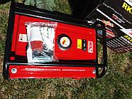 Генератор бензиновий 3-х фазний  POWERTECH PT6500WE ( ЕлектроСтартер) 4.8 Кв, фото 2
