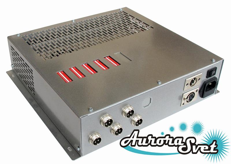 БУС-4-05-350MW блок управління четырехцветными світлодіодними світильниками, кількість драйверів - 5
