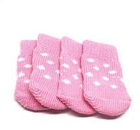Носки для собак розовые