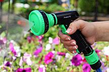 Пистолет для полива Presto-PS насадка на шланг пластик (4443), фото 2