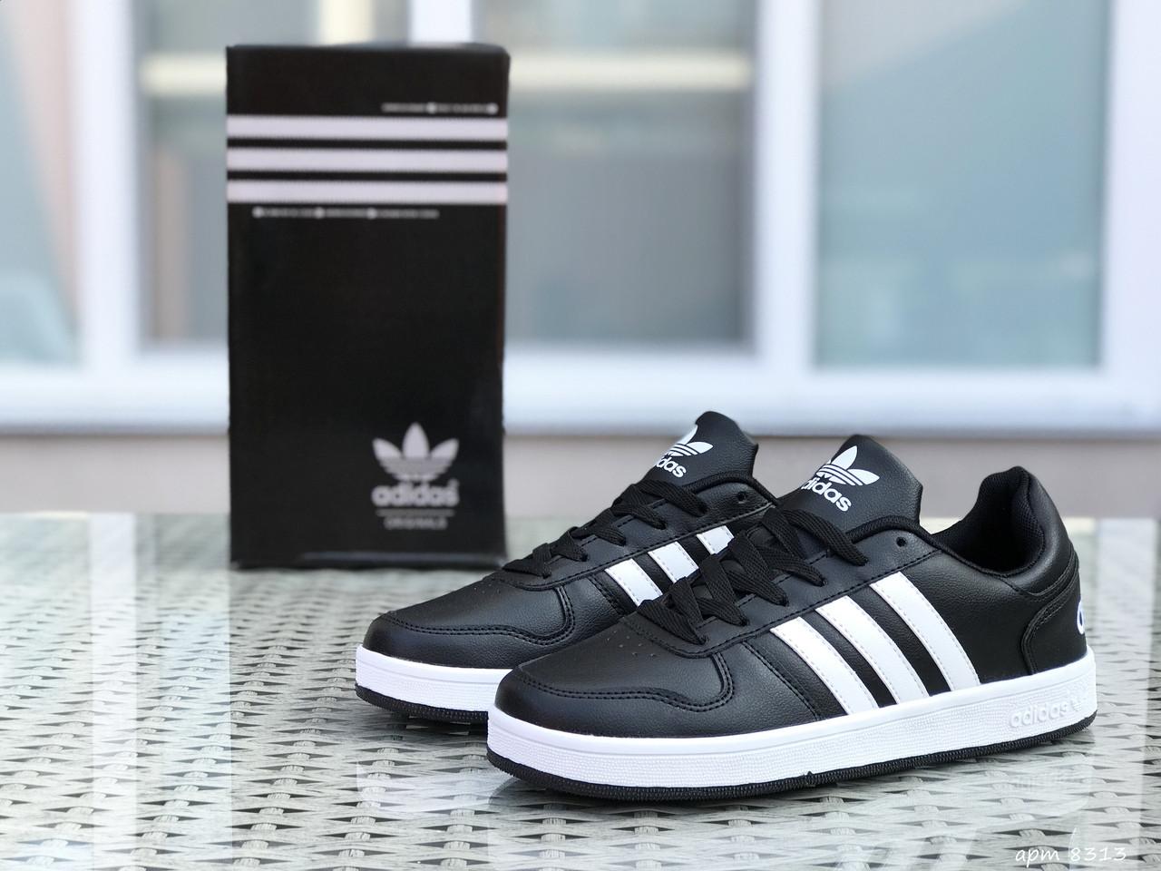 Кроссовки Adidas La marque,черно-белые
