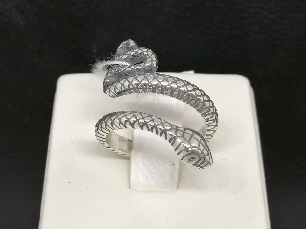 Серебряное кольцо с фианитами. Артикул 3853 16