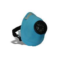 Респиратор У2К марля (код—ОЗК) голубой