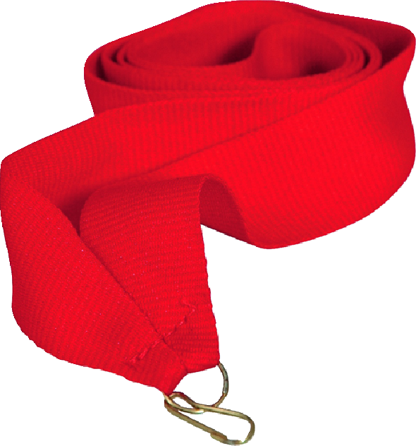Лента для медали красная 15 мм
