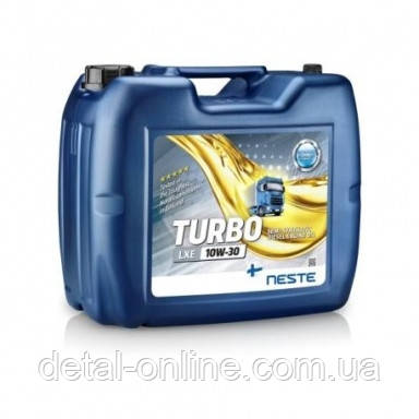 Моторное дизельное масло Neste Turbo LXE10W-30  /20л/, фото 2