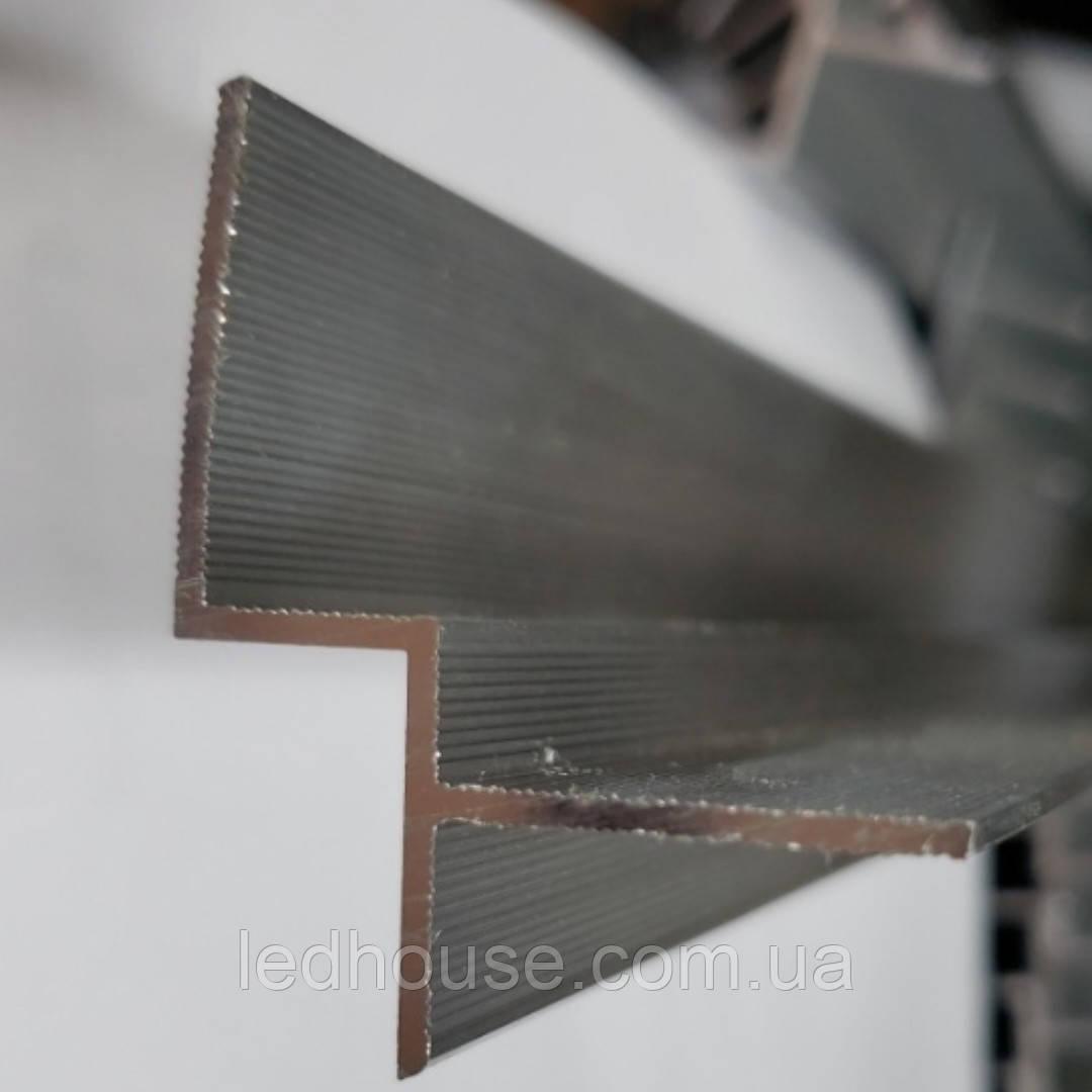 Профиль для теневого шва под Led ленту алюминиевый