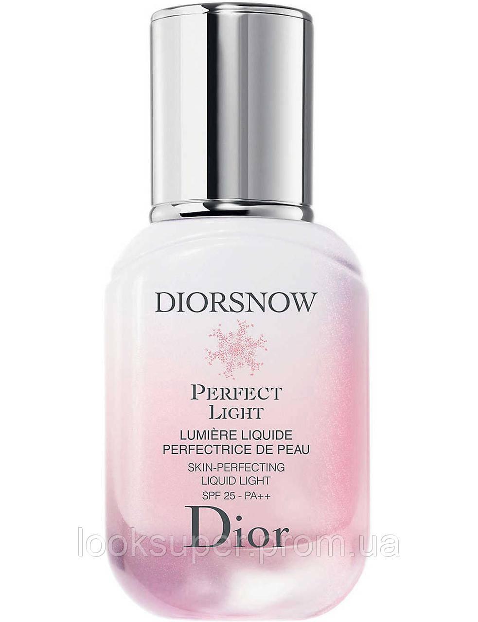 Жидкость для  увлажнения кожи DIOR Diorsnow Perfect Light Skin-Perfecting Liquid Light SPF 25 (30ml)