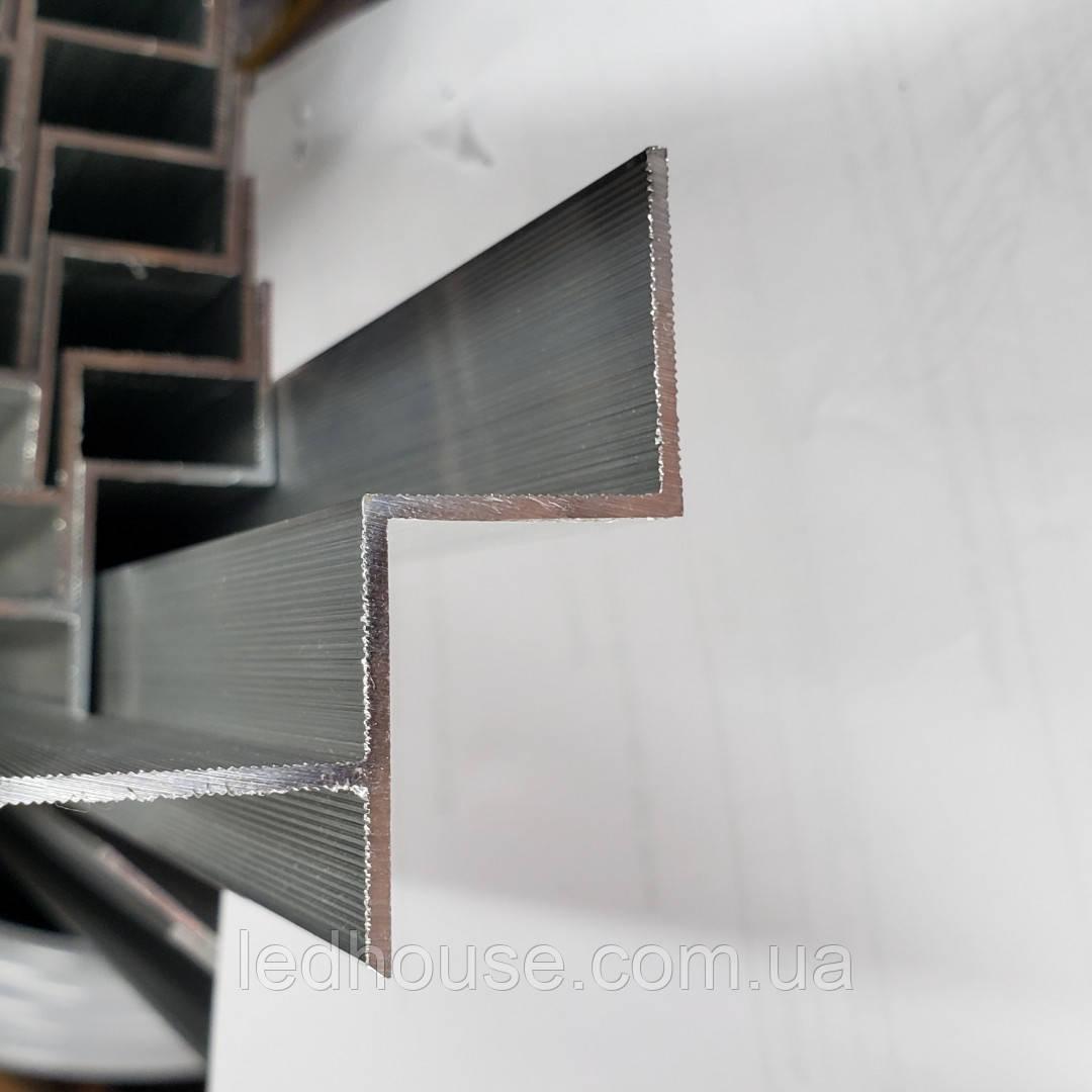 Профиль теневого шва под Led ленту алюминиевый