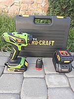 🔲 Шуруповерт аккумуляторный ProCraft PA 18-PRO с DFR патроном/  Гарантия 1 год.