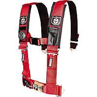 Ремни безопасности для багги, авто 4-х точечные 3″ Proarmor (красный) A114230