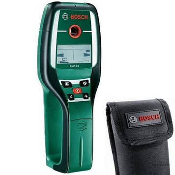 Детектор проводки, металлов, дерева  Bosch PMD 10 универсальный