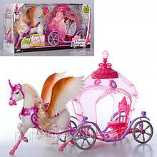 Велика карета з конем