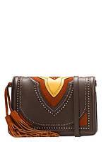 Кожаная модная женская сумка через плечо Z92-218
