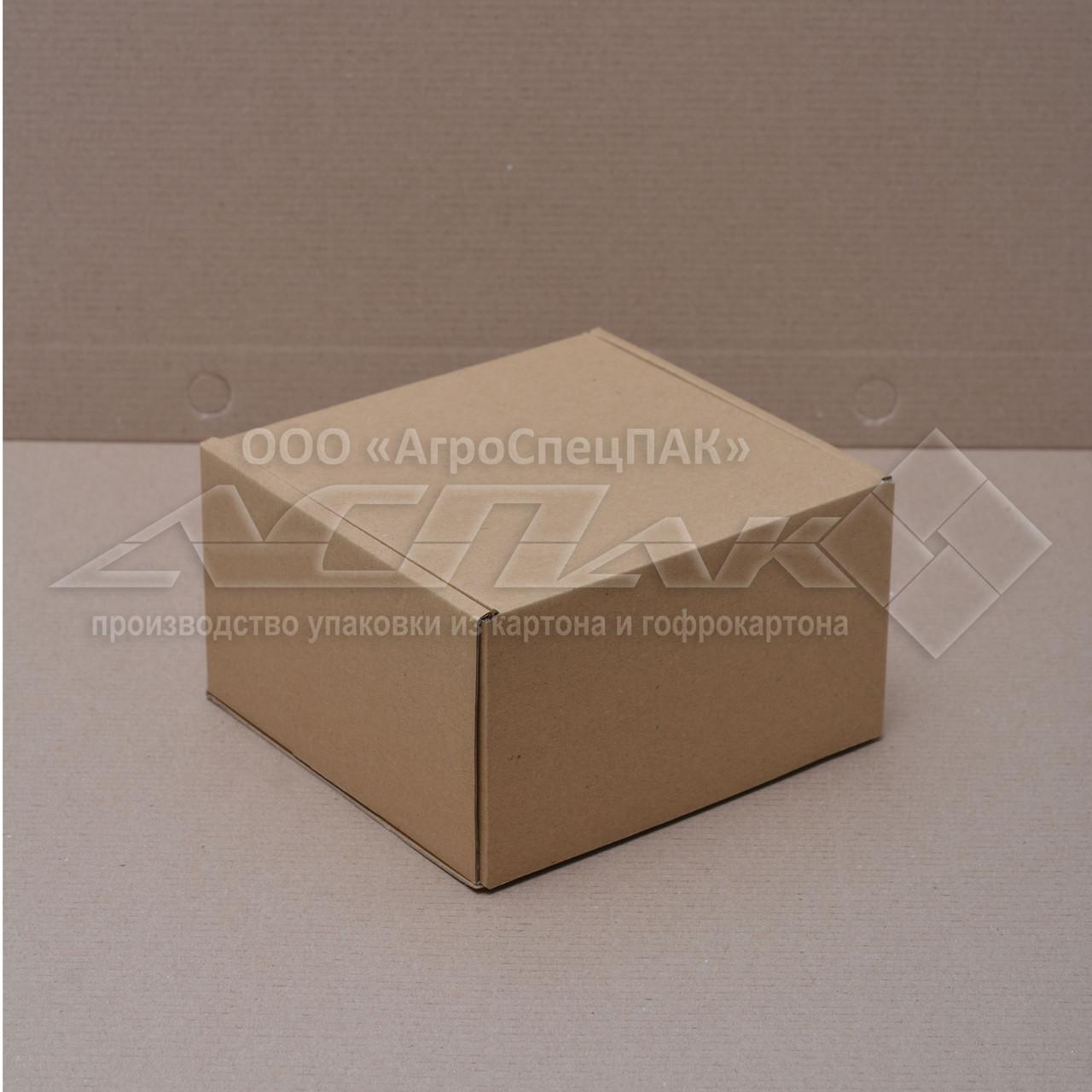 Картонные коробки 150*150*90 бурые - фото 2