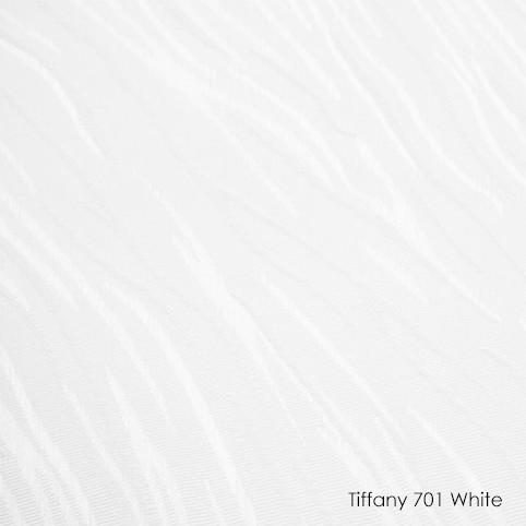 Вертикальные жалюзи Tiffany-701 white
