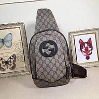 Кожаный рюкзак GUCCI, фото 1