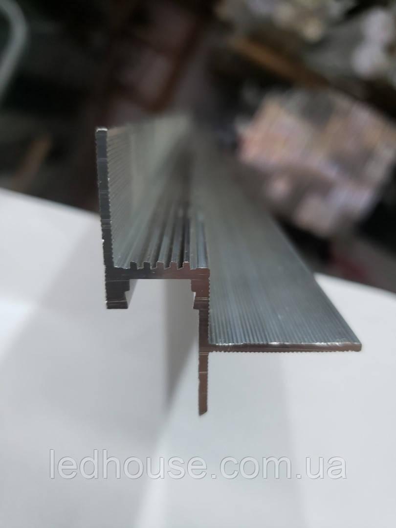 Профиль парящего потолка LED1220 под гипсокартон под рассеиватель