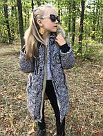 Зимняя куртка для девочки рост от 104 до 146