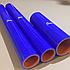Комплект патрубоков радиатора КрАЗ 6437,6510 3шт. силикон 6510-1303025, фото 2
