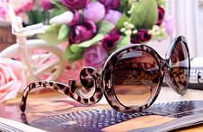 Очки реплика Prada коричневые, фото 3