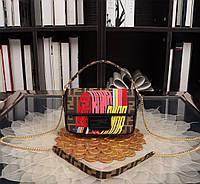 Кожаная сумка Fendi, фото 1