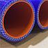Комплект патрубоков радиатора КрАЗ 6437,6510 3шт. силикон 6510-1303025, фото 3
