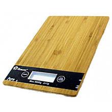 Ваги кухонні Domotec ACS KE-A до 5 кг настільні дерев'яні