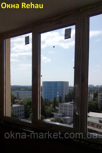 Курить окна Rehau Киев